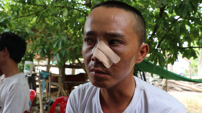 Vụ 3 cha con bị truy sát vì mùi hôi chuồng heo: Chủ tịch Hội nông dân xã thề không liên quan - Ảnh 2.