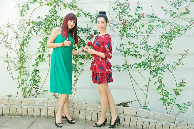 Lý do Trịnh Kim Chi, Hiền Mai thăm nhà vườn triệu đô của Quyền Linh - Ảnh 2.