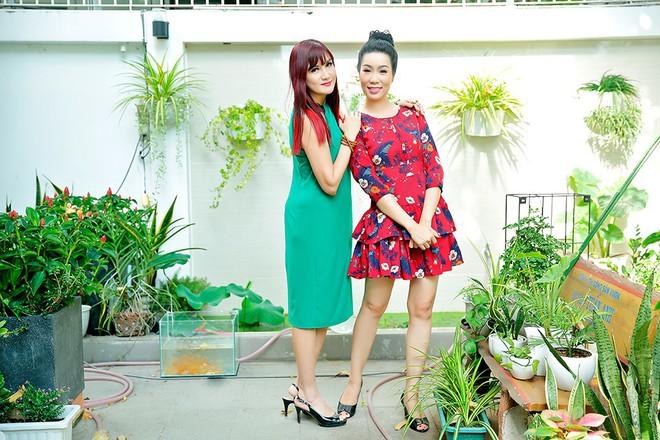 Lý do Trịnh Kim Chi, Hiền Mai thăm nhà vườn triệu đô của Quyền Linh - Ảnh 3.
