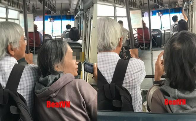 Nghe cụ ông 'nịnh' cụ bà trên xe buýt, chàng trai ngồi sau thích thú lên mạng khoe ngay lập tức