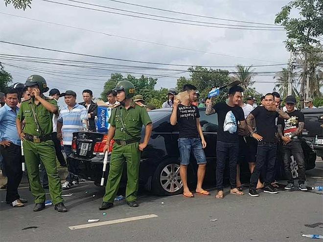 Bắt Giang 36 - đại ca giang hồ huy động đàn em bao vây xe chở công an ở Đồng Nai - Ảnh 1.