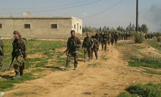 Kho đạn lớn của QĐ Syria nổ tung, thiệt hại nặng nề - Quân Thổ bị tấn công, khẩn cấp nhờ Nga ứng cứu - Ảnh 3.