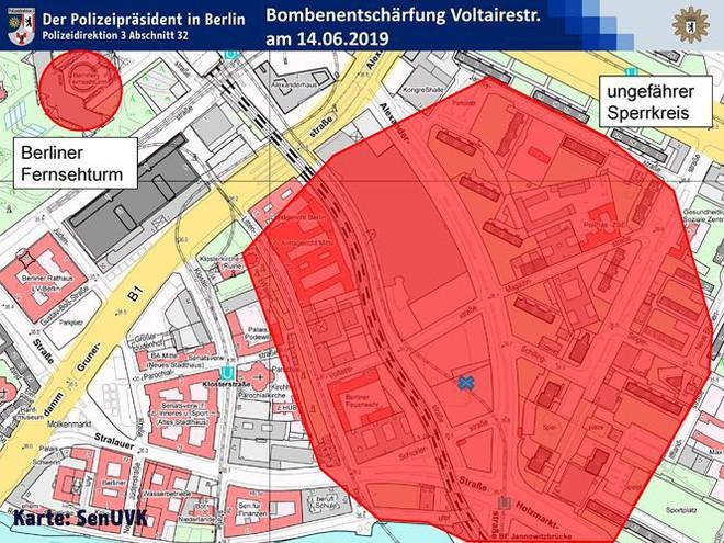 Berlin sơ tán 3.000 người vì quả bom từ thời Thế chiến II - Ảnh 1.