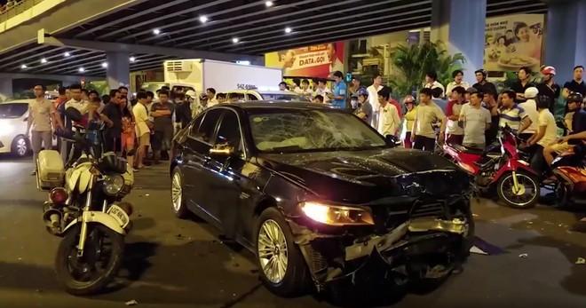 Nữ tài xế lái xe BMW gây tai nạn ở Hàng Xanh tiều tụy, nghẹn ngào khóc tại phiên xử - Ảnh 3.
