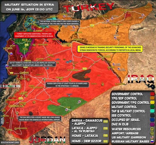 Trả đũa cuộc tấn công của quân Assad, Thổ Nhĩ Kỳ pháo kích dữ dội vào các vị trí của quân đội Syria - Ảnh 1.
