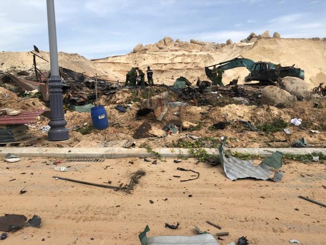 Hiện trường vụ nổ khu vực thi công sân golf tại Cam Ranh - Ảnh 3.