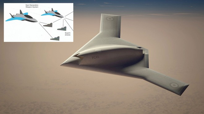 Máy bay tàng hình FCAS của Châu Âu: Chết từ trong trứng nếu so với F-35 Mỹ hay J-20 TQ? - Ảnh 2.