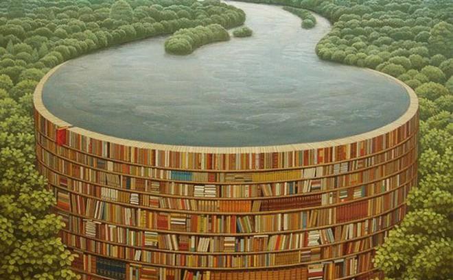 Bạn nhìn thấy giá sách hay dòng sông, đáp án sẽ tiết lộ điều đang làm bạn buồn phiền
