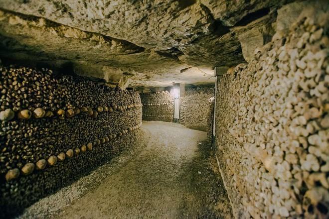 Bí ẩn rợn tóc gáy dưới lòng Paris hoa lệ: Một căn hầm chứa tới hơn 6 triệu bộ xương người - Ảnh 3.