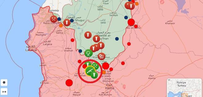 Phiến quân vừa đồng loạt tấn công tổng lực - Ngày căng thẳng của QĐ Syria - Ảnh 10.