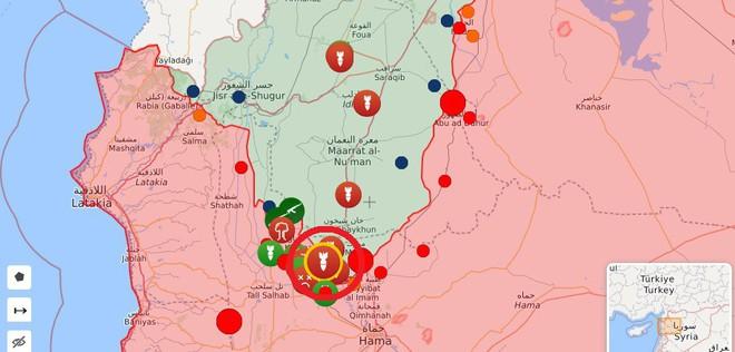 Phiến quân vừa đồng loạt tấn công tổng lực - Ngày căng thẳng của QĐ Syria - Ảnh 2.