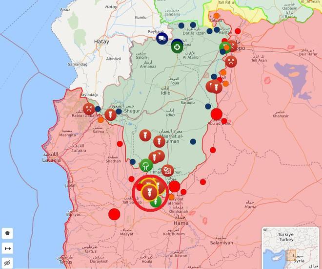 Phiến quân vừa đồng loạt tấn công tổng lực - Ngày căng thẳng của QĐ Syria - Ảnh 8.