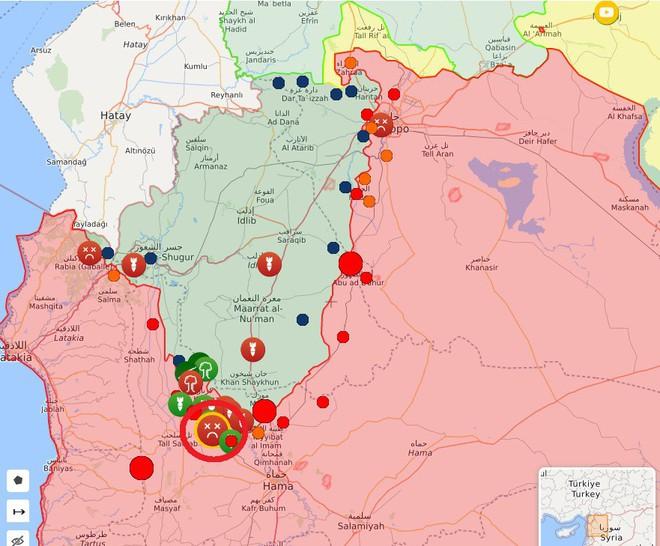 Phiến quân vừa đồng loạt tấn công tổng lực - Ngày căng thẳng của QĐ Syria - Ảnh 6.