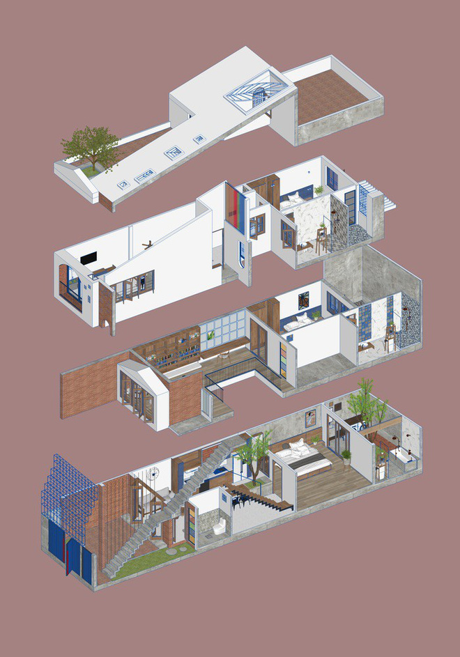 Ngôi nhà nhỏ trong ngôi nhà lớn tại Đà Nẵng trên báo ngoại - Ảnh 15.