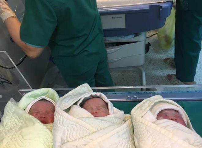 Chồng trẻ lên mạng khoe vợ phi thường, sinh liền 3 bé gồm 2 trai 1 gái khiến ai cũng xuýt xoa - Ảnh 2.