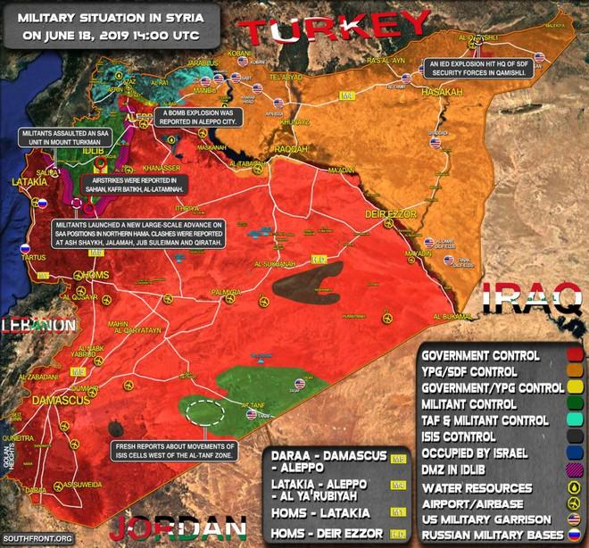 Phiến quân vừa đồng loạt tấn công tổng lực - Ngày căng thẳng của QĐ Syria - Ảnh 4.