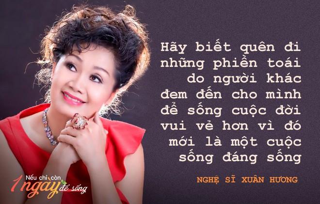 Nghệ sĩ Xuân Hương: Nếu còn 1 ngày để sống, tôi sẽ đến với những người đem sóng gió cho tôi để cám ơn - Ảnh 1.
