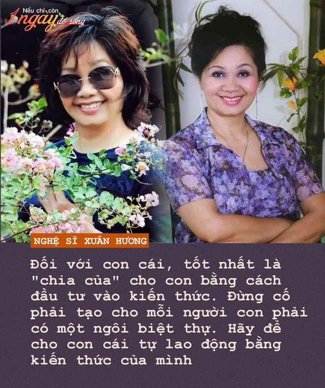 Nghệ sĩ Xuân Hương: Nếu còn 1 ngày để sống, tôi sẽ đến với những người đem sóng gió cho tôi để cám ơn - Ảnh 4.