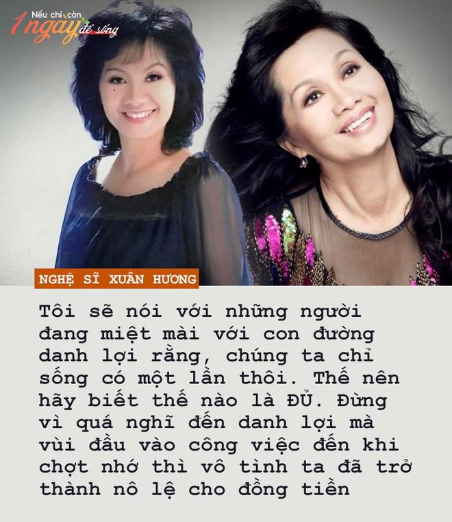 Nghệ sĩ Xuân Hương: Nếu còn 1 ngày để sống, tôi sẽ đến với những người đem sóng gió cho tôi để cám ơn - Ảnh 3.