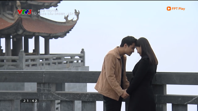 Nàng dâu order: Khán giả đỏ mặt với hàng loạt cảnh hôn môi liên tục của vợ chồng Lan Phương chỉ trong 1 tập phim - Ảnh 1.