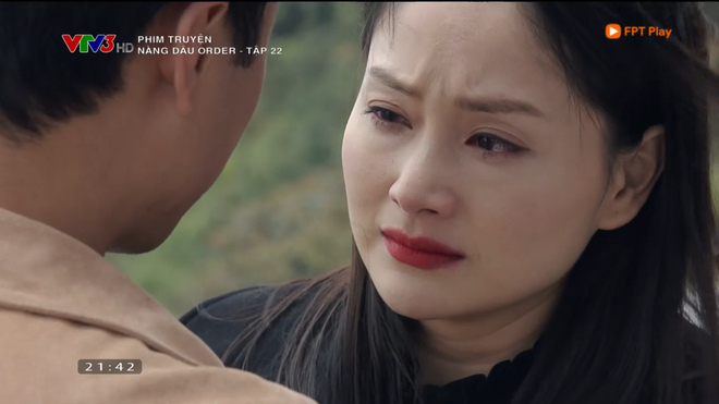Nàng dâu order: Khán giả đỏ mặt với hàng loạt cảnh hôn môi liên tục của vợ chồng Lan Phương chỉ trong 1 tập phim - Ảnh 2.