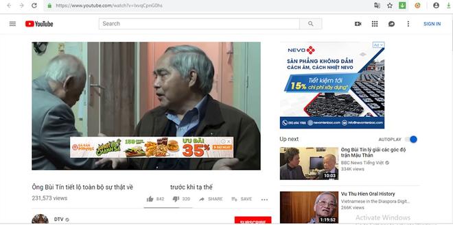 FLC và một loạt tên tuổi lớn xuất hiện quảng cáo trong các clip phản động trên YouTube - Ảnh 1.