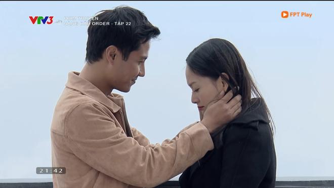 Nàng dâu order: Khán giả đỏ mặt với hàng loạt cảnh hôn môi liên tục của vợ chồng Lan Phương chỉ trong 1 tập phim - Ảnh 3.