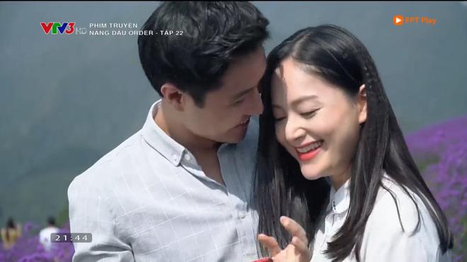 Nàng dâu order: Khán giả đỏ mặt với hàng loạt cảnh hôn môi liên tục của vợ chồng Lan Phương chỉ trong 1 tập phim - Ảnh 4.