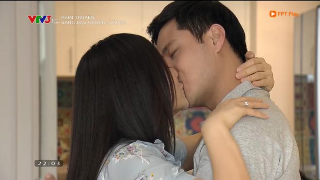 Nàng dâu order: Khán giả đỏ mặt với hàng loạt cảnh hôn môi liên tục của vợ chồng Lan Phương chỉ trong 1 tập phim - Ảnh 9.