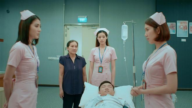 Xuân Nghị, Thúy Ngân diễn cảnh tình cảm trong phim mới - Ảnh 10.