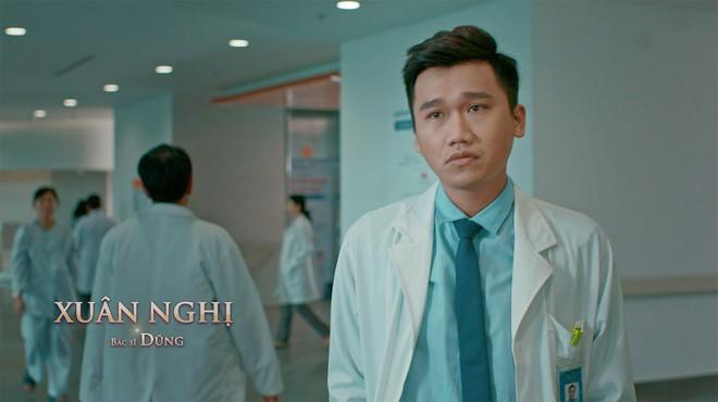 Xuân Nghị, Thúy Ngân diễn cảnh tình cảm trong phim mới - Ảnh 3.