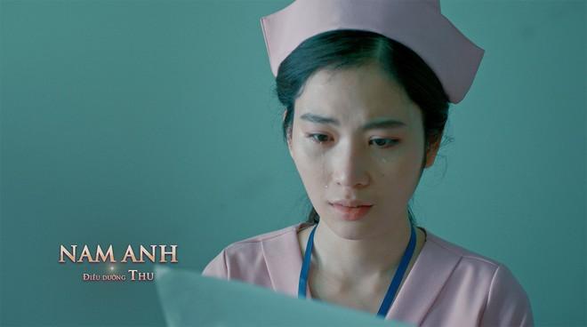 Xuân Nghị, Thúy Ngân diễn cảnh tình cảm trong phim mới - Ảnh 6.
