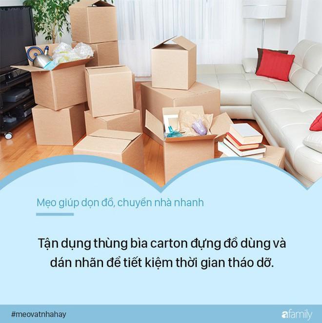 7 mẹo chuyển nhà giúp giảm 50% công việc chuyển dọn, cực nhanh mà lại không hề tốn sức - Ảnh 1.