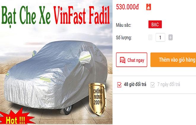 Dịch vụ ăn theo xe Vinfast Fadil nhộn nhịp, tiểu thương kiếm bạc triệu mỗi ngày - Ảnh 3.