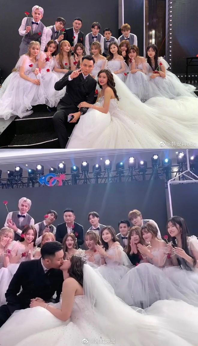 Hốt hoảng hôn lễ của mẫu nữ xứ Trung: Nhan sắc thảm họa từ cô dâu đến khách mời toàn hotgirl Weibo bị bóc trần - Ảnh 19.