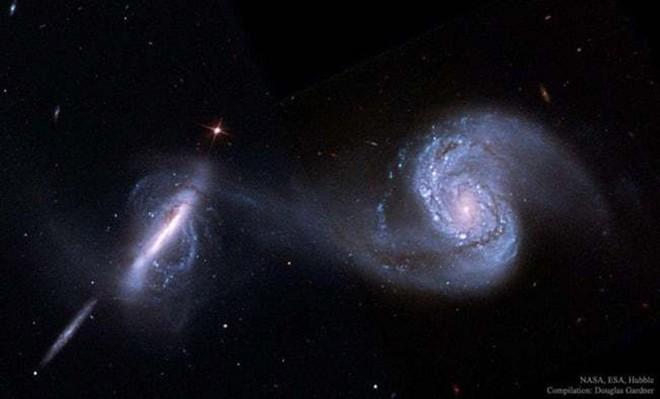 Kinh ngạc cảnh tượng ngoạn mục các thiên hà nuốt chửng nhau - Ảnh 4.