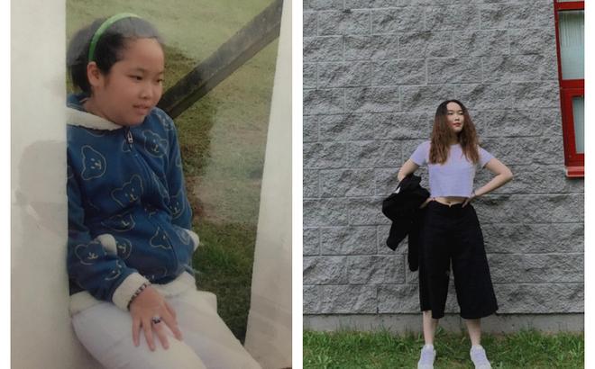 """Vì một câu nói của cô giáo, nữ sinh quyết giảm cân và màn """"lột xác"""" ngoạn mục"""