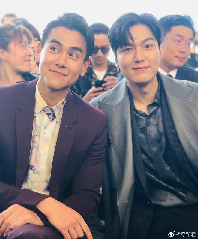 Đẹp trai chẳng ai dám chê nhưng Lee Min Ho bất ngờ bị lấn át khi chung khung hình ngôi sao xứ Trung - Ảnh 2.