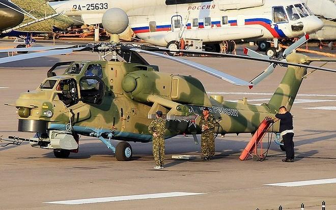 Lộ diện tên lửa chống tăng tầm bắn xa nhất thế giới của trực thăng Mi-28NM - Ảnh 13.