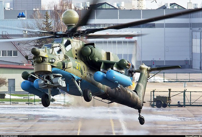 Lộ diện tên lửa chống tăng tầm bắn xa nhất thế giới của trực thăng Mi-28NM - Ảnh 14.