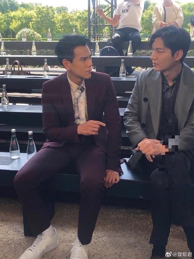 Đẹp trai chẳng ai dám chê nhưng Lee Min Ho bất ngờ bị lấn át khi chung khung hình ngôi sao xứ Trung - Ảnh 3.
