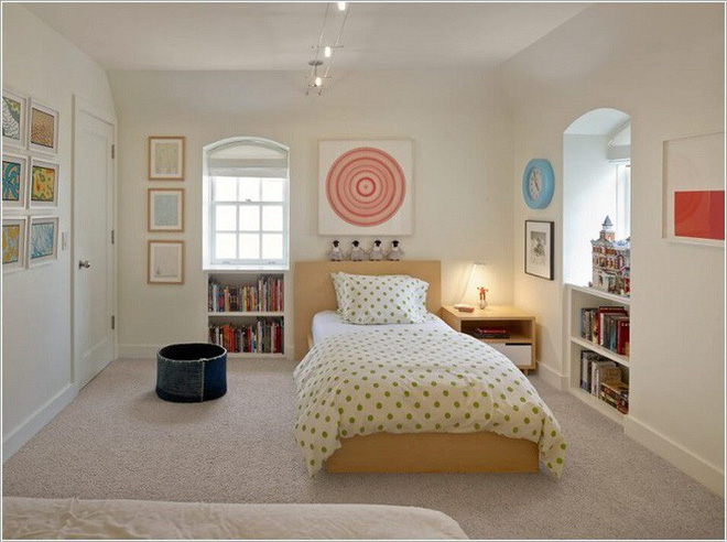 Học lỏm ngay 8 mẹo vặt để ứng dụng thêm các tiện ích vào phòng ngủ cho con - Ảnh 6.