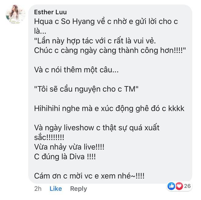 Giữa ồn ào bị Thu Minh chơi bẩn dìm hàng, diva So Hyang nhờ Hari Won lên tiếng khiến ai cũng choáng  - Ảnh 2.