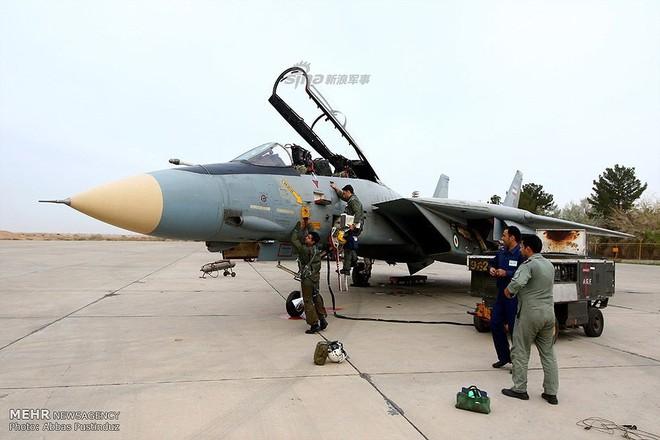 F-14 Iran sẽ tuyệt chủng khi đối đầu với tiêm kích tàng hình Mỹ? - Ảnh 4.
