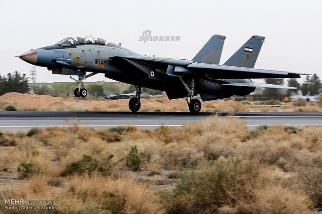 F-14 Iran sẽ tuyệt chủng khi đối đầu với tiêm kích tàng hình Mỹ? - Ảnh 6.