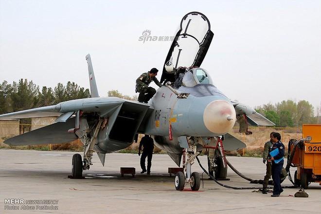 F-14 Iran sẽ tuyệt chủng khi đối đầu với tiêm kích tàng hình Mỹ? - Ảnh 8.