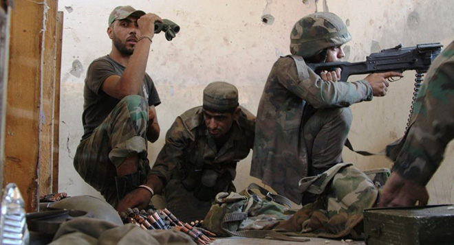 CẬP NHẬT: Quân đội Syria pháo kích trạm quan sát của Thổ Nhĩ Kỳ ở tây bắc Hama - Ảnh 9.