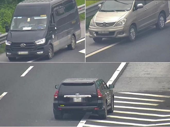 Chỉ trong buổi sáng, 3 ô tô chạy lùi trên cao tốc - Ảnh 1.