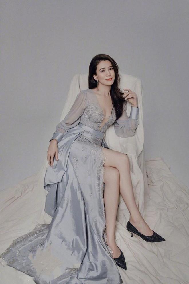 Hoa hậu Hồng Kông Viên Vịnh Nghi U50 sắc vóc siêu quyến rũ - Ảnh 1.