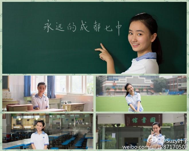 Sao nhí duy nhất Cbiz đỗ đại học Top 1 Trung Quốc: Tiếp đón phu nhân Obama, sở hữu nhan sắc thanh tú trời phú - Ảnh 6.